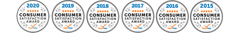 Dealer Rater Consumer Satifaction Award