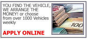 You find the vehicle, we arrange the money. Choose from over 1000 vehicles weekly